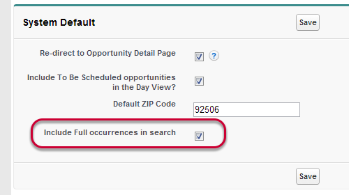 Exclude Full Occurrences from Search Results