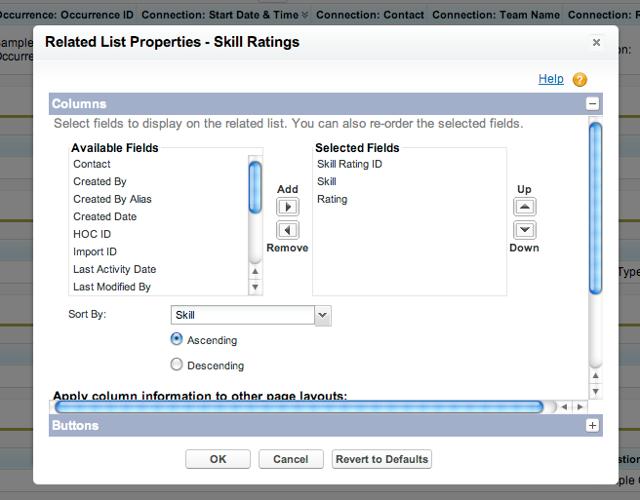 Editing a List's properties