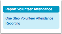 One Step Volunteer Attendance Reporting  (HOC283)