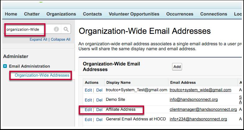 "Ability to rename ""Affiliate Address"" (HOCAVV-363)"