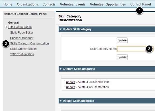 Creating a Custom Skill Category