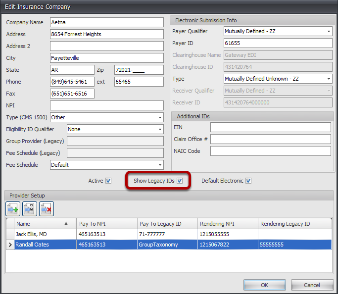 Ensure Show Legacy IDs checkbox is checked.