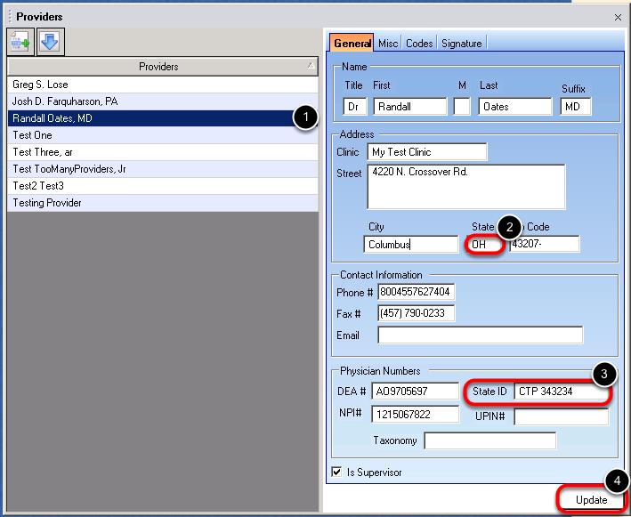 Provider Manager Setup