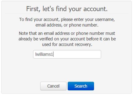1. Reset Password