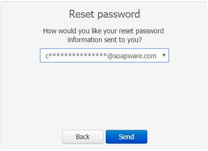 - Reset Password Email