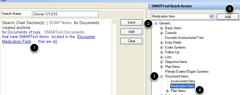 Define the SMARText Item Type