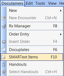 Open SMARText Items
