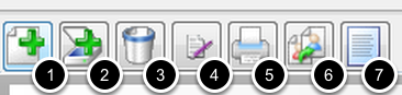 Action buttons on mini toolbar within Chart Navigator