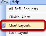 Save a Chart Layout