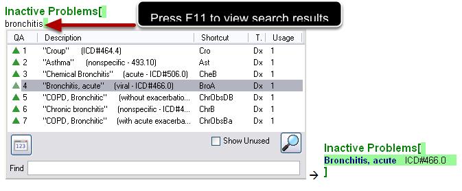 F11 Entry Method