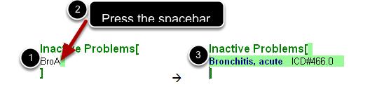 Shortcut Code Entry Method