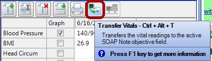 Transfer Vitals