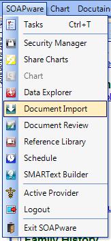 Document Import Workspace