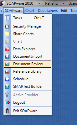 Document Review Workspace: