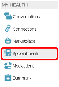 2. Create or Add Comments to an Appointment Request