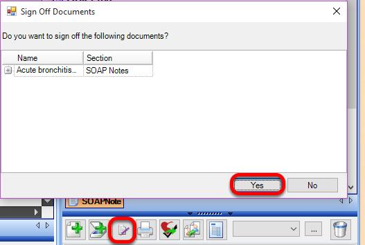 Upload Medical Summary on Document Sign Off