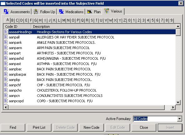 Version 4 Shortcut Codes