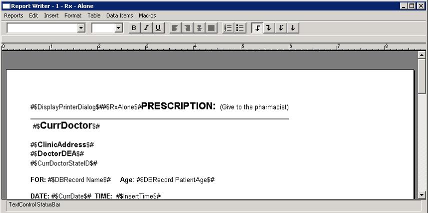 Version 4 Report Writer