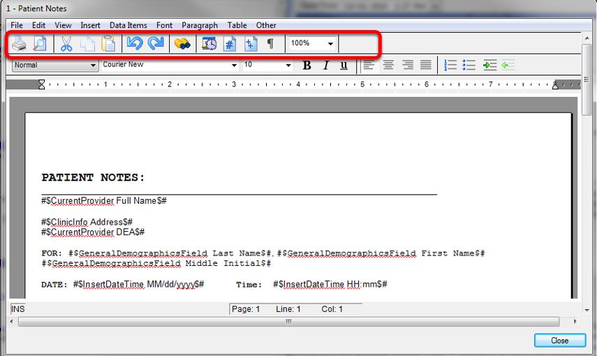 2011/2012 Document Designer