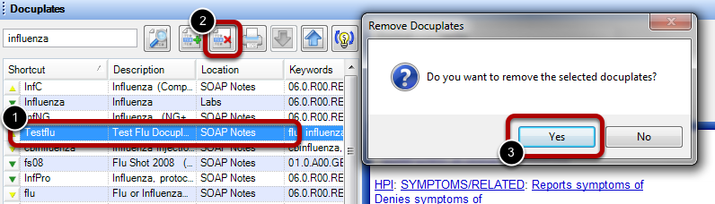 Delete a Docuplate