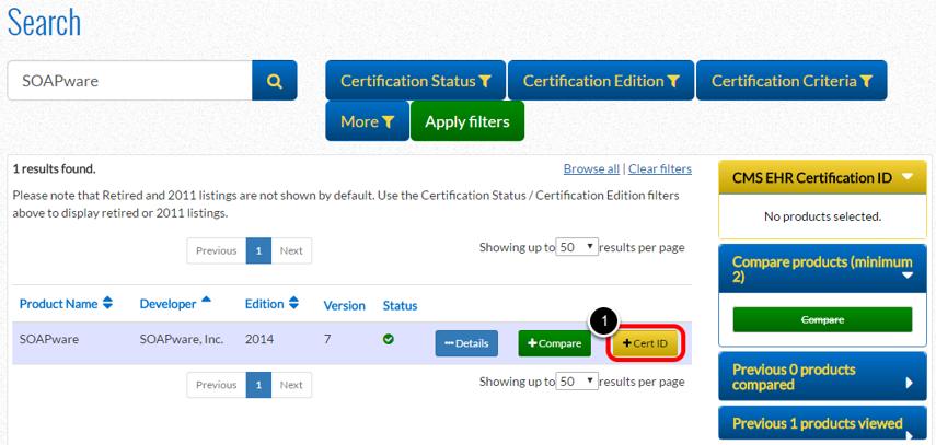 3. Get Certification ID