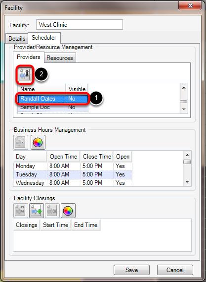 Provider/Resource Management