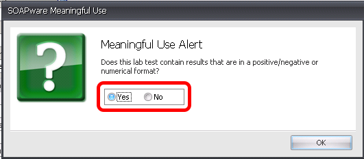Scanning Labs Into the Labs Chart Section