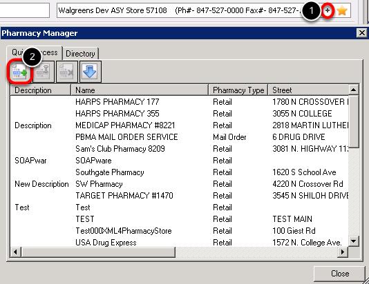 - Add a New Pharmacy