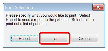 Patient List