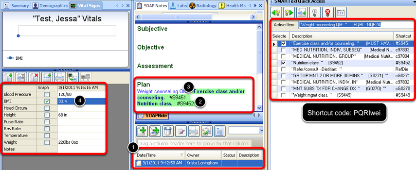 Quality Measure Documentation Workflow