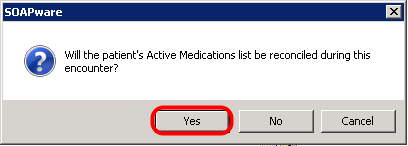 Medication Reconciliation Prompts