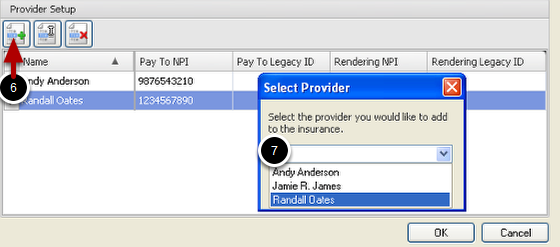Rendering Provider Setup for Insurance Company