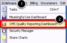 CMS Quality Reporting Workspace