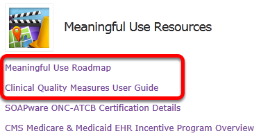 1.  Meaningful Use Roadmap