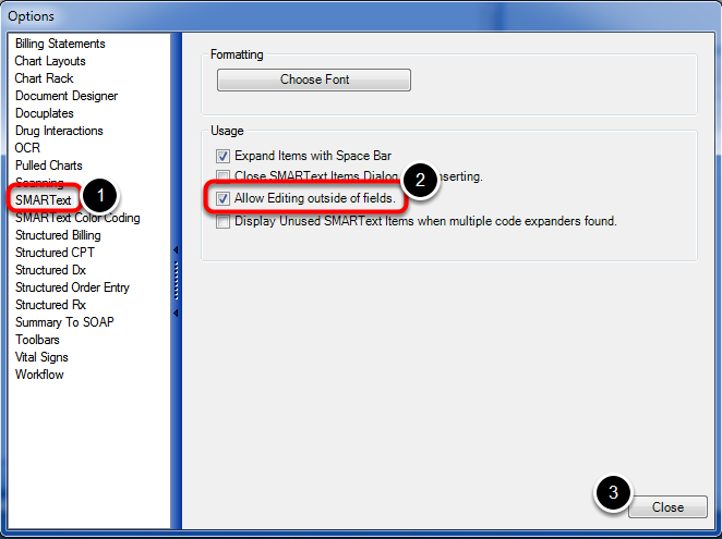 Enable Editing of SMARText Outside of the Fields