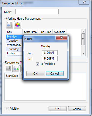 - Working Hours Management