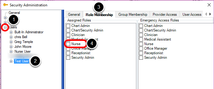 Set Up a New User and Assign a Role