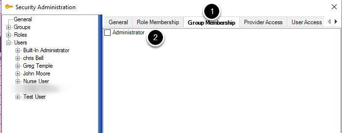 Assign a New User to a Group
