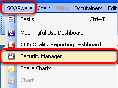 How to Access Security Manager