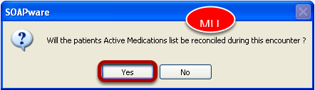 Medication Reconciliation Prompts