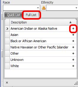 Language: Full List