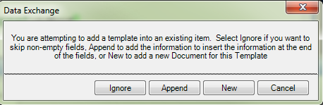 If the Document is Not Empty