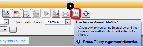 Customize Task View