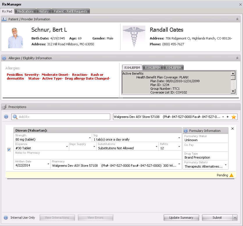 3. Open Rx Manager