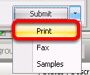 Print a Prescription from Rx Manager