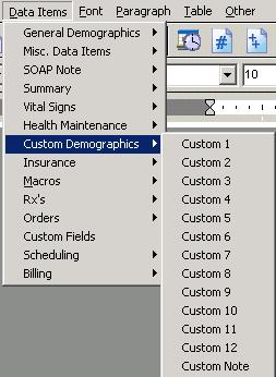 Custom Demographics