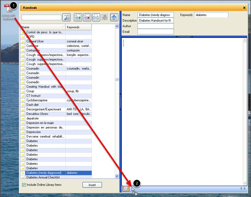Step 1: Creating a PDF Handout