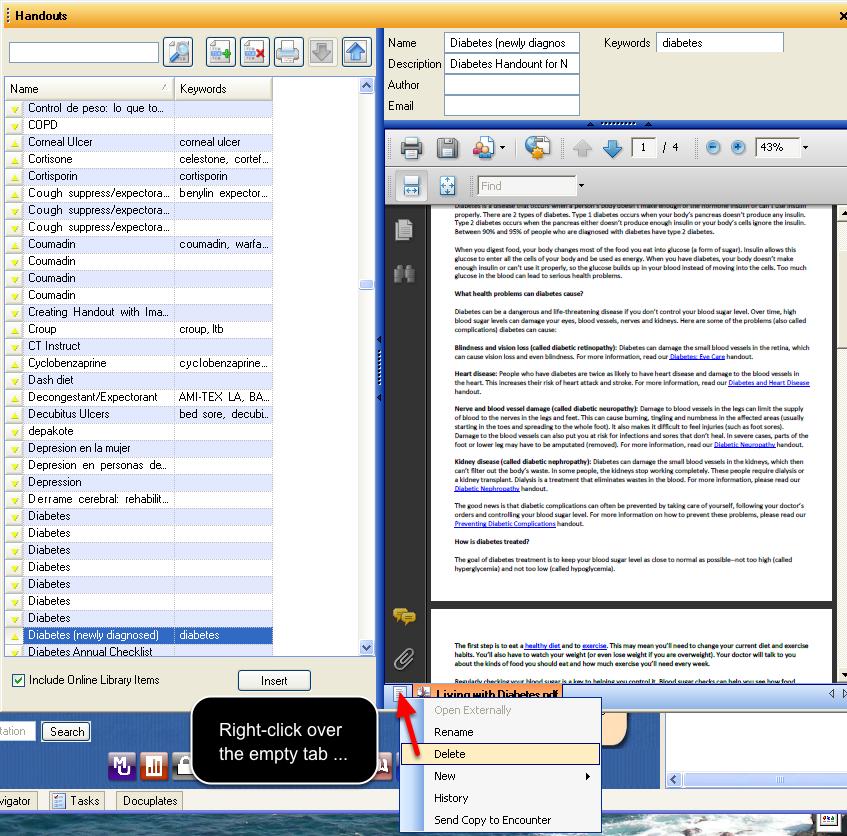 Step 2: Creating a PDF Handout