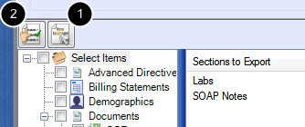 Saving Export Formats