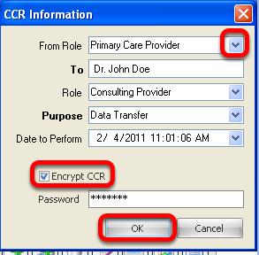 CCR Information Box